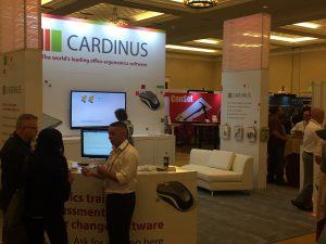 Cardinnus stand at ErgoExpo 2016