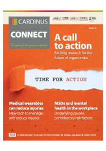 The Magazine for Ergonomics Professionals