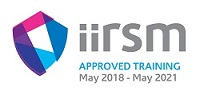 IIRSM Approved Training Logo | May 2018 to May 2021