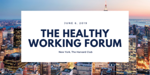 The Health Working Forum, New York, The Harvard Club