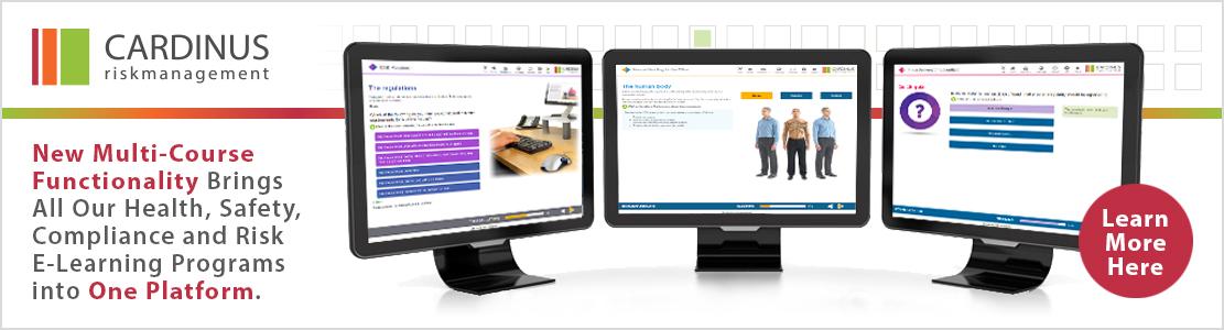 Cardinus risk maangement multi-course e-learning banner