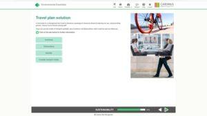 Travel plan solution