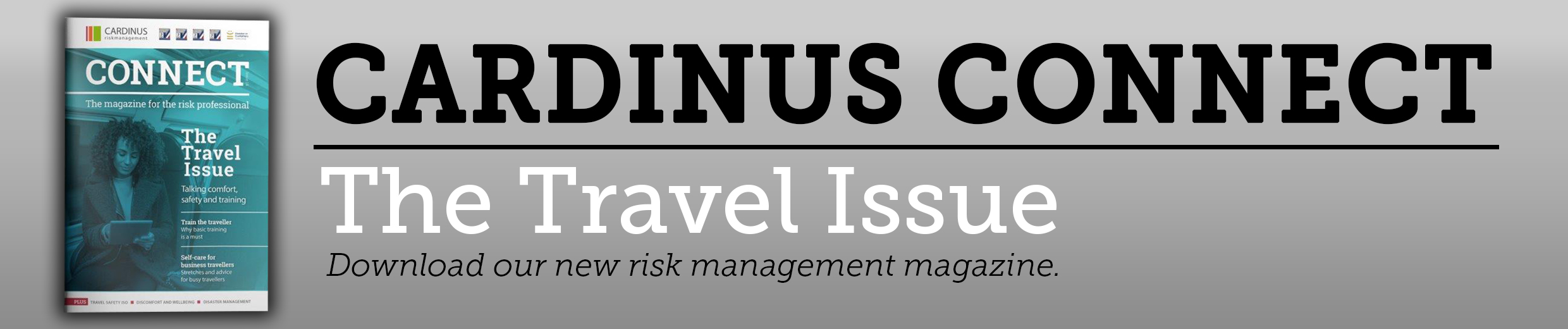 Download the Cardinus Connect Issue 14: The Travel Edition