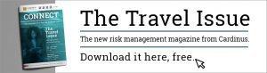 The travel issue, the new risk management magazine from Cardinus. Download it here, free.