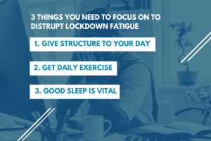 3 Things You Need to Focus on to Disrupt Lockdown Fatigue