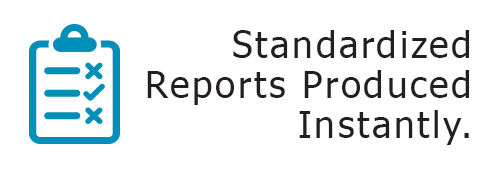 Standardized Reports Produced Instantly with Healthy Working Pro
