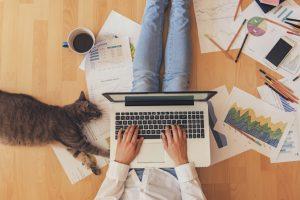 Flexible Working Woman