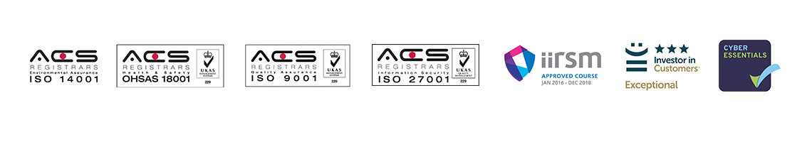 Cardinus Safety and DSE Accreditations