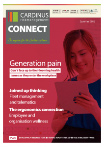 Full size front cover, Cardinus Connect 2016