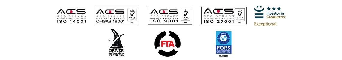 Cardinus Fleet Risk Management Accreditations