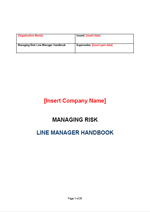 RP - Line manager handbook