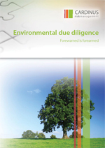 WP - Environmental due diligence