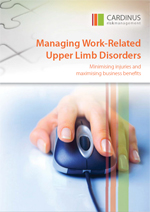WP - Managing Work Related Upper Limb Disorders