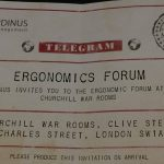Ergonomics Forum Flyer