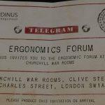 Ergonomics Forum Flyer