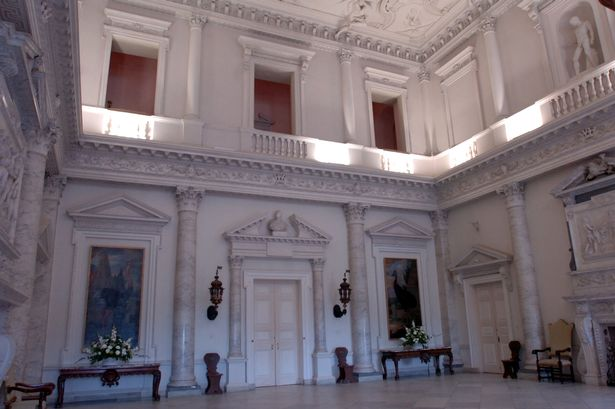 An interior view of Clandon park