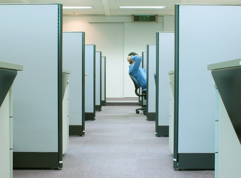 Beating the Hazards of the Sedentary Office