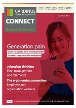 Cardinus Connect Generation Pain magazine summer 2016