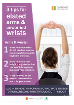 Healthy Working Poster