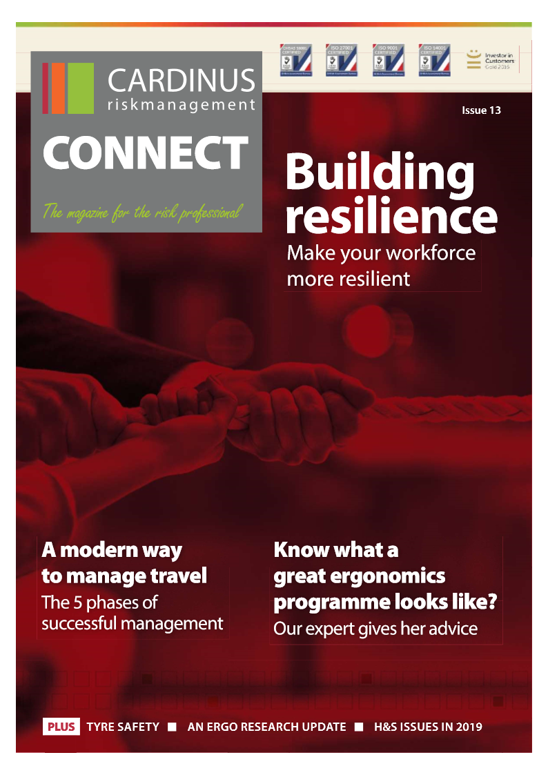 Cardinus Resilient workforce magazine cover