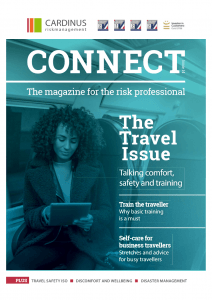 The Travel issue | Issue 14 of Cardinus Connect, the magazine for the risk professional