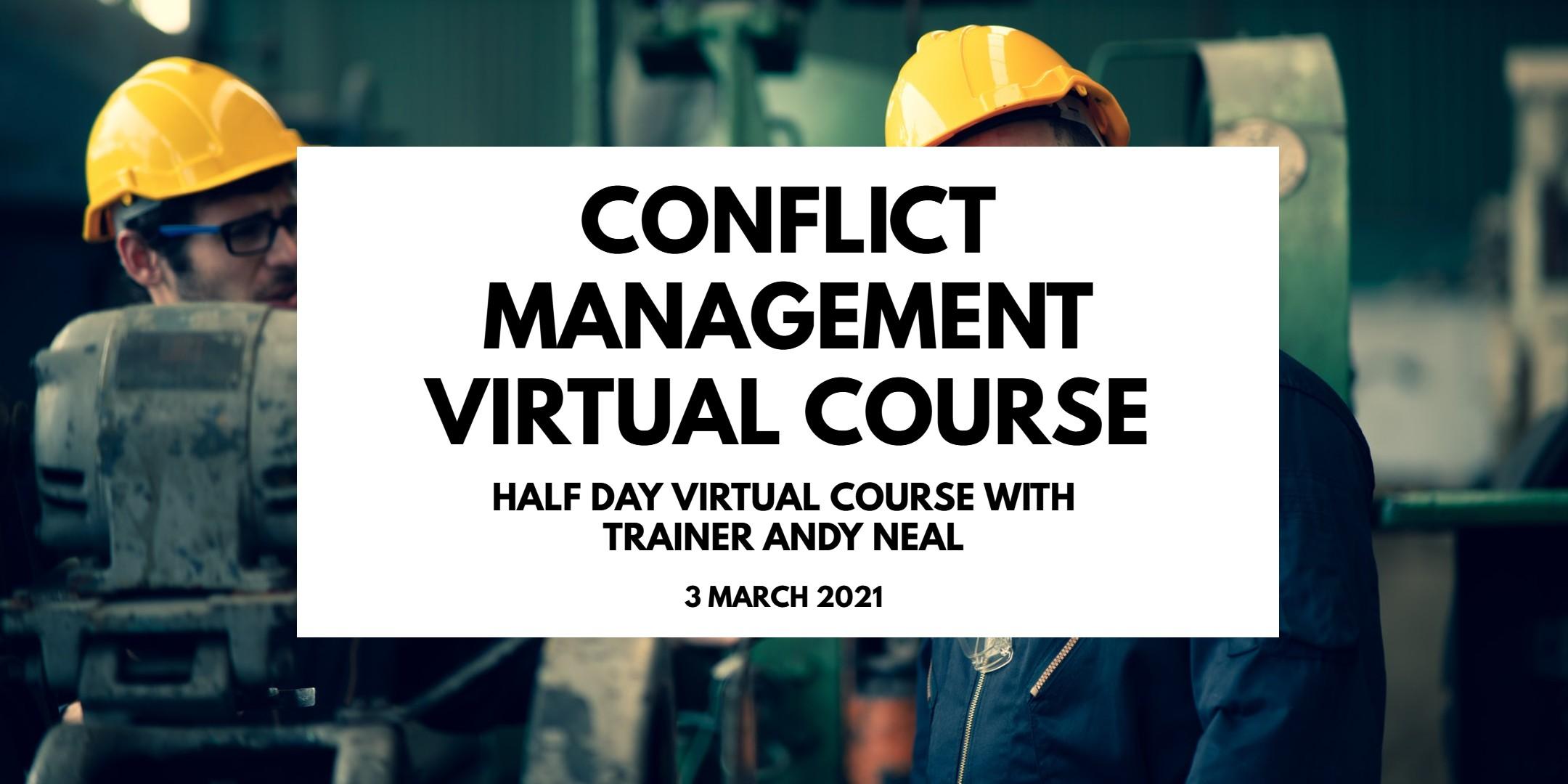 Conflict Management Virtual Course