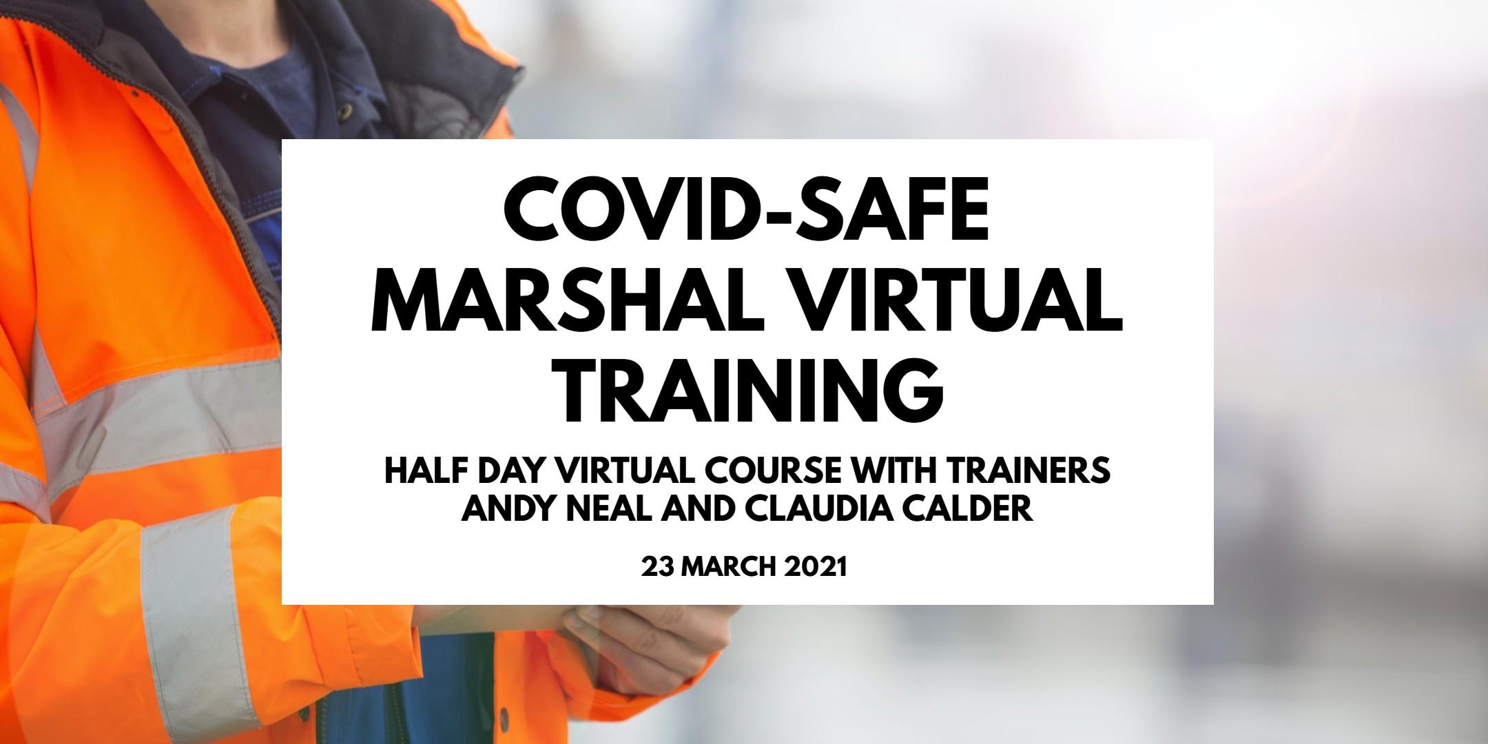 COVID-Safe Marshal Virtual Training