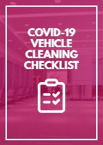 COVID-19 Vehicle Cleaning Checklist