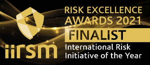 IIRSM Risk Excellence Awards 2021 - Finalist - International Risk Initiative of the Year