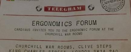 Going Underground to Deliver Industry-Leading Ergonomics Forum