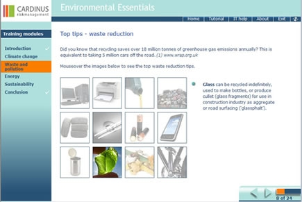Environmental essentials for employees