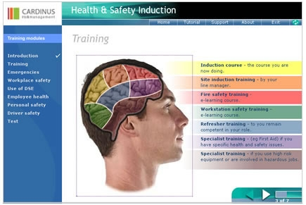 Health and safety induction