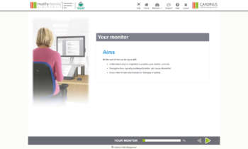 Your Monitor, Aims   Healthy Working
